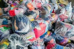 100 pc, Job lot wholesale second hand Kids clothes mix, UK market A & Cream grade