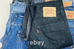 10x Wholesale Job Lot Levi 501 Jeans Grade B