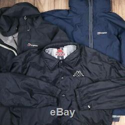 12X Vintage Sport Branded Jackets Wholesale Joblot Grade A Men Women