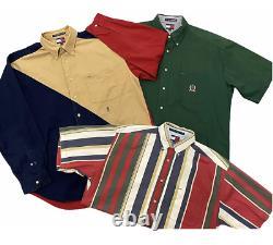 15 X TOMMY HILFIGER Shirts Clothing Wholesale Job Lot Vintage Bundle Grade A & B