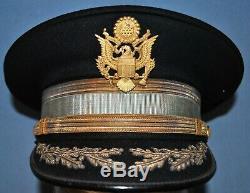 1930's Infantry Field Grade Officer's Full Dress Cap