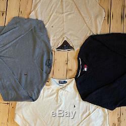20 x GRADE A + B BRANDED CLOTHING WHOLESALE MIX BULK JOB LOT VINTAGE / RETRO
