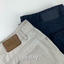 20 x GRADE A BRANDED CHINO PANTS / TROUSERS WHOLESALE JOB LOT BULK