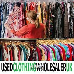 20kg Women's Clothing Grade A Used Second Hand Sustainable Wholesale Job Lot