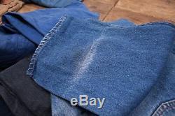 20x Pairs Grade A Wholesale Levis Vintage Worn 501 Denim Jeans Job