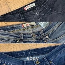 25 X Vintage Levis Jeans Womens Girls Ladies Bulk Job Lot Wholesale Grade A Y2k