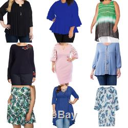 25 kg Job lot wholesale 2nd hand ladies Size 18+ clothes, Grade A / cream mix