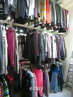250 Grade A Adults Mixed Clothing Inc Fashion Sport Brands
