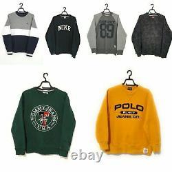 30 X Grade A Branded Sweaters Knitwear Vintage Bulk Wholesale Resell Bundle