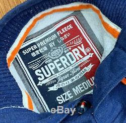 30 x GRADE A SUPERDRY SWEATSHIRTS & QUARTER ZIPS WHOLESALE BULK JOB LOT