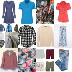 40 kg Job lot wholesale second hand adults all seasons clothing mix, Grade A