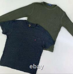 45 X Mens Grade B Branded Ralph Lauren Mens T Shirts Bundle- Vintage Wholesale