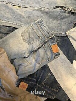 50 Pcs Vintage 501 Levis Jeans Grade A Women Men Job Lot Wholesale