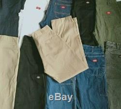 50 Pcs x Dickies Pant Grade B Wholesale Job Lot