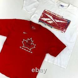 50 x GRADE A/B VINTAGE BRANDED T-SHIRTS WHOLESALE MIX BULK JOB LOT RETRO