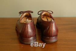 60's Hartt Cherry Red NST Derby, Custom Grade, 9.0B/C, GYW, semi spade sole
