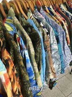 60 vintage Hawaiian Shirts wholesale job lot grade A bulk