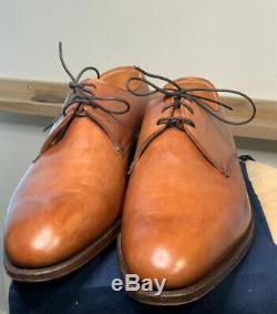 £700 NEW Crockett & Jones HAND GRADE UK 9, Antique tan shoe bags Edward Green