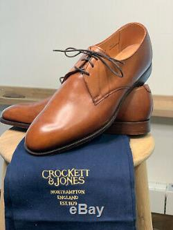 £700 NEW Crockett & Jones HAND GRADE UK 9, Antique tan, with shoe bags