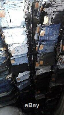 70x Pairs Mens Grade A/B Wholesale Levis Wrangler Lee Vintage Jeans Job Lot