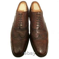 $790 CHURCH'S Men's Dk Brown Custom Grade Charles Brogues 11 U. S
