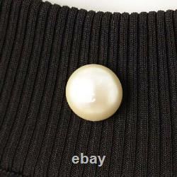AUTHENTIC CHANEL Faux Pearl Waffle Bare Dress P46105 SIZE 34 GRADE A USED MD