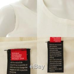 Authentic Double Standard Clothing Dress 2162021 White Grade Ns Used -at