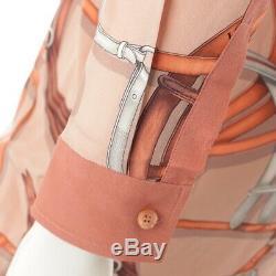 Authentic Gucci Belt Pattern Silk Shirt Dress 386904 Pink 36 Grade Ab Used HP
