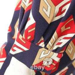 Authentic Gucci Long Sleeve Ribbon Dress 479505 Multicolor Size S Used Grade A