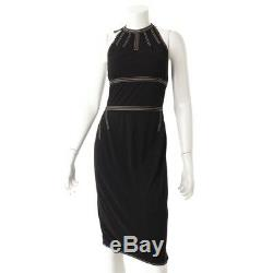 Authentic Hermes Stitch Dress Black Grade Ab Used At