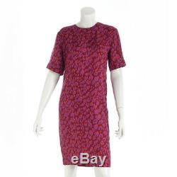Authentic Louis Vuitton Dress 36 Leopard Purple Grade Ab Used At