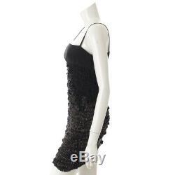 Authentic Prada Silk No Sleeve Dress Black 40 Grade Ab Used HP