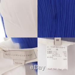 Authentic Stella Mccartney Sleeveless Dress White Blue Grade A Used-at