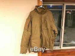 Beyond Clothing Level 7 Jacket/Parka Coyote size Large