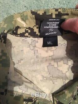 Beyond Clothing Level 9 Medium Long AOR2 Field Shirt Jacket Blouse