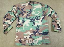 Beyond Clothing Level 9 RAID BDU Woodland Combat Top size Large MINT! SOF NSW