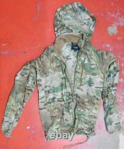 Beyond Clothing Multi-Cam A4 Level 4 Wind Shirt Jacket Size LARGE