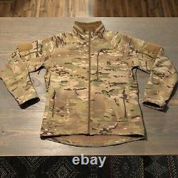Beyond Clothing Multicam A5 RIG Softshell Jacket Large Level 5 U. S. A. Light Use