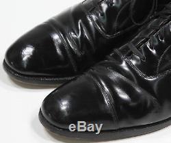 CHURCH'S Black'Balmoral' Custom Grade Leather Oxford Dress Shoes US 10 D