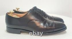 CHURCH'S Custom Grade Consul Black Leather Men's Oxfords Size UK 11.5 F, US 12