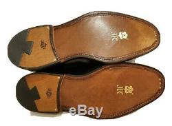CHURCH'S Custom Grade Grafton Black Leather Men's Oxfords Size 6.5, US 7.5
