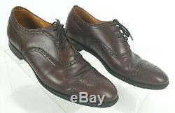 CHURCH'S Diplomat Custom Grade Leather Cap Toe Men's Oxford Shoes SZ 8.5 D $625