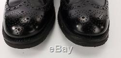 CHURCH'S'Hartwell' Custom Grade Brogue 85 G Shoes Oxford Rubber Sole