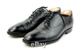 CHURCH's Custom Grade Sz. 110 D UK 12 D US Captoe Oxford Dress Shoes England Blk