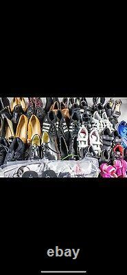 CREAM & GRADE A Wholesale Joblot Used Second Hand 20kg. Mixed Shoes