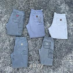 Carhartt / Dickies Wholesale Workwear Designer Bundle, Grade B/C, Mixed Sizes
