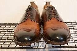 Cheaney Brogue Derbys Custom grade UK 8 RAPHAEL + Shoe Trees