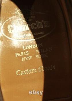 Church Colne Custom Grade Brown Suede Derbys UK11F