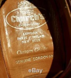 Church Custom Grade Grafton Genuine Shell Cordovan Brogues UK 9G