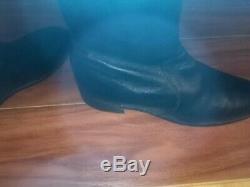 Church S Mens Black Custom Grade Zipper Dress Boots Size 9.5 E $140.00